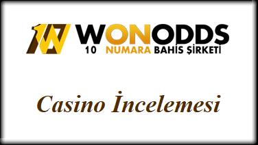 Wonodds Casino İncelemesi